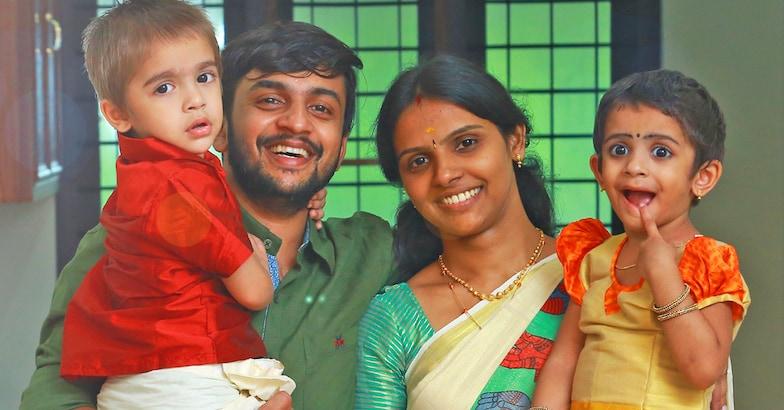 sandeep-family