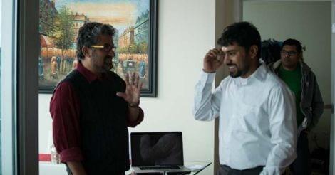 Shyamaprasad with Nivin Pauly