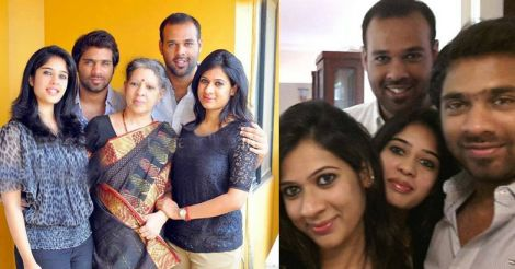 parvathy-family