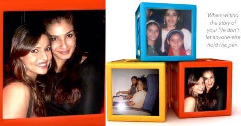 raveena-daughter