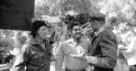 actor Omar Sharif, center, playing the role of the Cuban revolutionary Ernesto (Che) Guevra