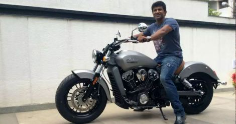 puneeth-bike