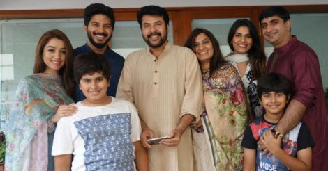 dulquer-family