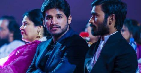 Dhanush and Vijay at an event. Photo: Facebook