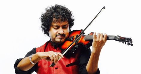 manoj-george-violin