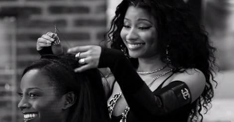 Nicki Minaj in 'Barbershop 3'