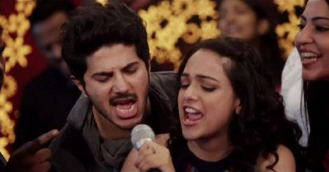 Mental Manadhil song from the movie OK Kanmani