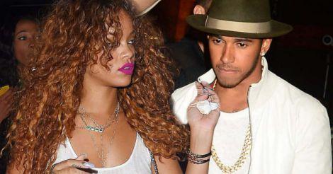Rihanna - Lewis Hamilton