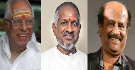 എം എസ് വിശ്വനാഥൻ, ഇളയരാജ, രജനീകാന്ത്