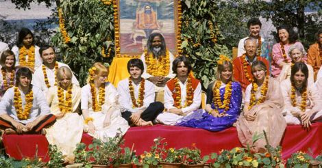 The Beatles with Maharshi Mahesh Yogi