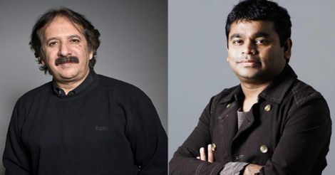Majid Majidi and A R Rahman