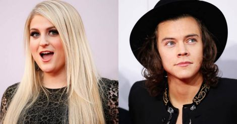 Meghan Trainor and Harry Styles