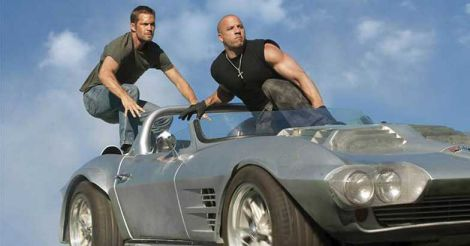 Vin Diesel and Paul Walker in Fast and Furious