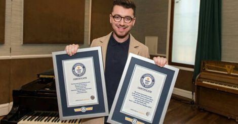 Sam Smith Breaks Two World Records