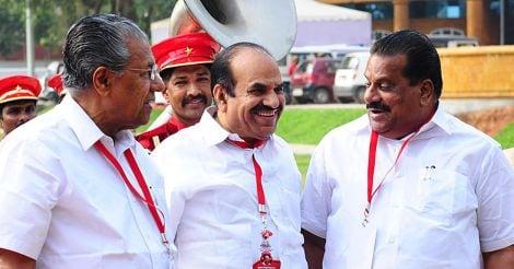 Pinarayi Vijayan, Kodiyeri Balakrishnan, EP Jayarajan