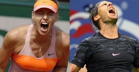 Sharapova, Nadal