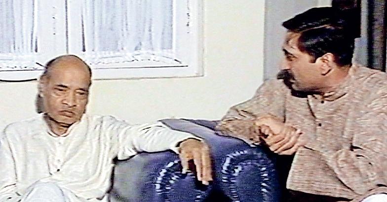 Narain-interviewing-Narasimha-Rao