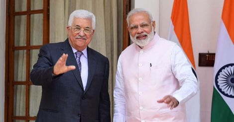Mahmoud-Abbas-and-Narendra-Modi