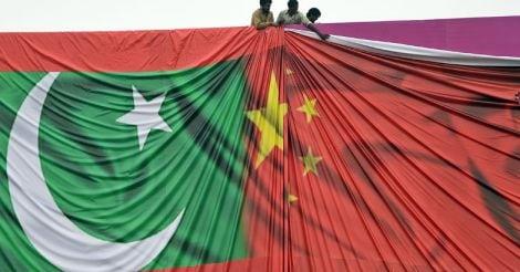 Pakistan - China Flag