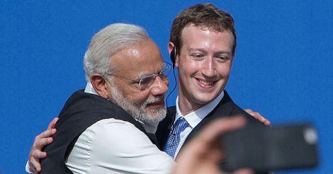 Facebook-Modi-Zuckerberg