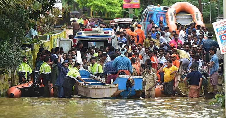 Kerala Flood 2018 - Magazine cover