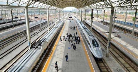 Bullet train, China