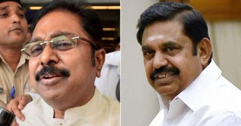 TTV Dinakaran and Edappadi Palanisamy