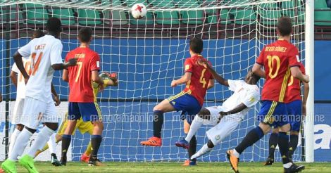 Spain Niger Match