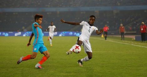 India Ghana Soccer Under 17 WCUP