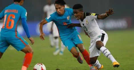 India Ghana Soccer