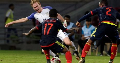 India Colombia US Soccer