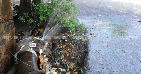 Kerala Water Authority, Pipe Burst