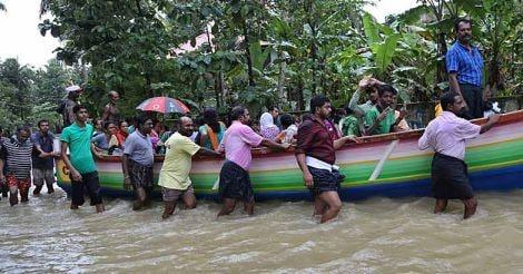 Kerala Floods Fishermen