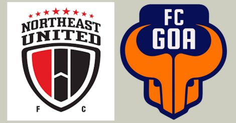 North East United, FC Goa logo