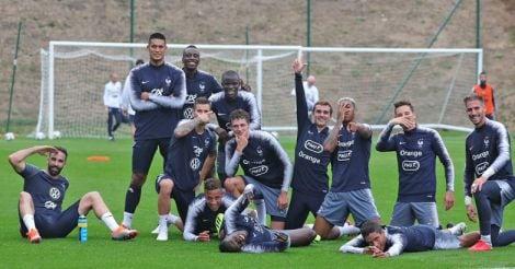 france-team-practise