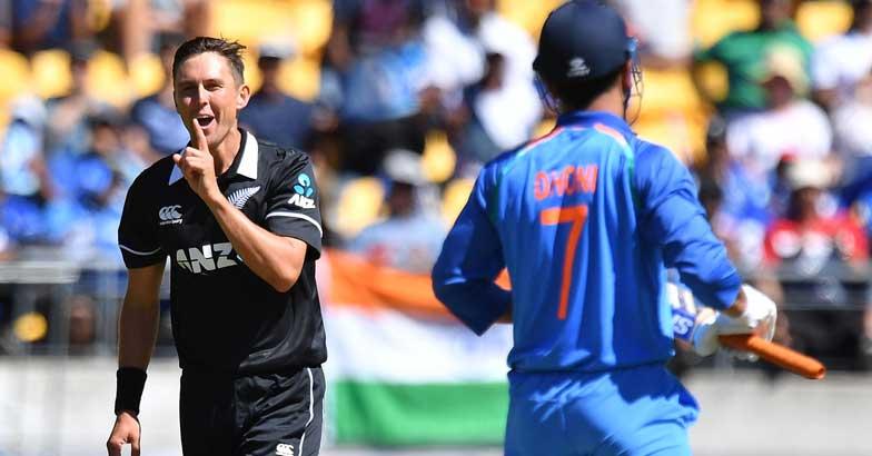 MS Dhoni | Trent Boult | Ind Vs NZ ODI
