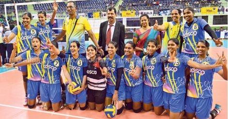 Volleyball-kerala-women-team