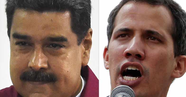 Nicolas Maduro, Juan Guaido