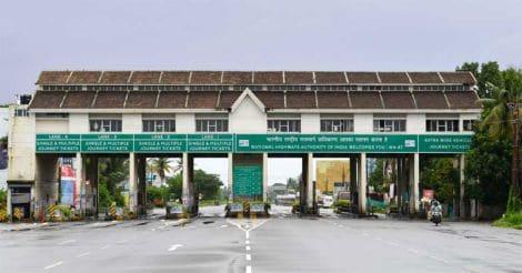 Kumbalam toll booth