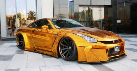 gold-car