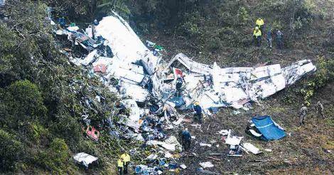 Colombia Air Crash