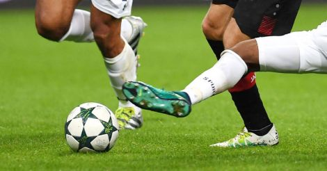 Football representational image