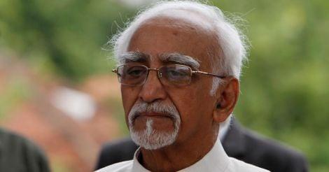 Vice President Mohammad Hamid Ansari