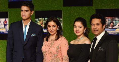 Sachin-and-family