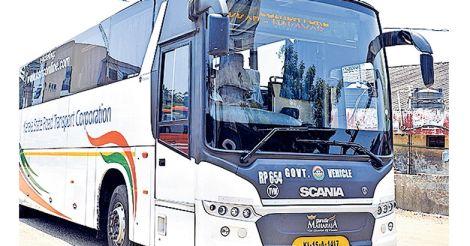 KSRTC Scania Bus