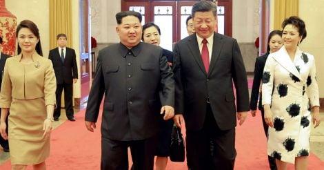 Kim Jong-un, Xi Jinping
