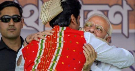 Narendra Modi greets Biplab Kumar Deb