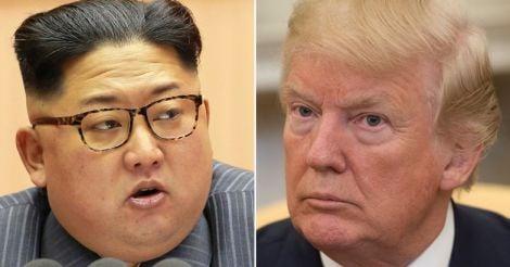 Kim Jong Un, Donald Trump