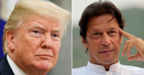 Donald Trump, Imran Khan
