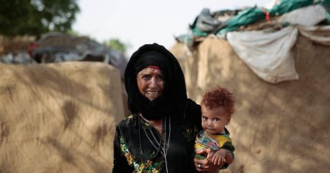 Mideast Yemen The Displaced